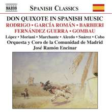 Comunidad de Madrid Orchestra - Don Quixote in Spanish Music, CD