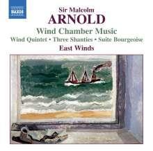 Malcolm Arnold (1921-2006): Kammermusik für Bläser, CD