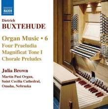 Dieterich Buxtehude (1637-1707): Orgelwerke Vol.6, CD