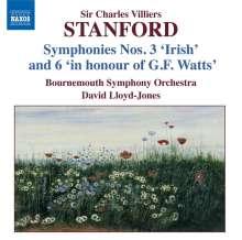 Charles Villiers Stanford (1852-1924): Symphonien Nr.3 & 6, CD