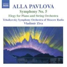 Alla Pavlova (geb. 1952): Symphonie Nr.5, CD