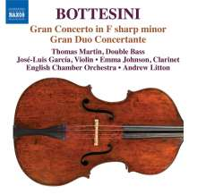 Giovanni Bottesini (1821-1889): Grande Concerto für Kontrabass, CD