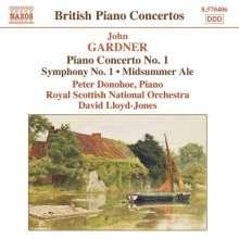 John Gardner (geb. 1917): Symphonie Nr.1, CD
