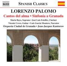 Lorenzo Palomo (geb. 1938): Sinfonia a Granada für Sopran,Gitarre & Orchester, CD