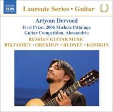 Artyom Dervoed - Russian Guitar Music, CD