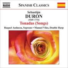 Sebastian Duron (1660-1716): Tonadas (Lieder), CD
