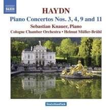 Joseph Haydn (1732-1809): Klavierkonzerte H18 Nr.3,4,9,11, CD