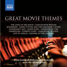 Royal Liverpool Philharmonic Orchestra - Great Movie Themes, CD