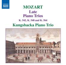 Wolfgang Amadeus Mozart (1756-1791): Klaviertrios Vol.2, CD