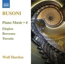 Ferruccio Busoni (1866-1924): Klavierwerke Vol.4, CD