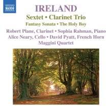 John Ireland (1879-1962): Sextett für Klarinette, French Horn & Streichquartett, CD