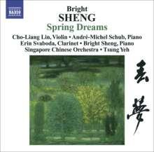 Bright Sheng (geb. 1955): Spring Dreams für Violine & Chinesisches Orchester, CD