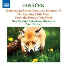 Leos Janacek (1854-1928): Orchestersuiten aus Opern Vol.3, CD