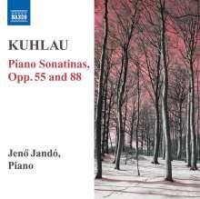 Friedrich Kuhlau (1786-1832): Sonatinen für Klavier, CD