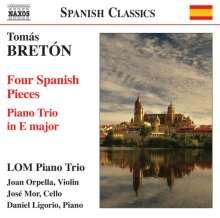 Tomas Breton (1850-1923): Klaviertrio Es-Dur, CD