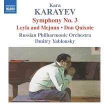 Kara Karayev (1918-1982): Symphonie Nr.3, CD