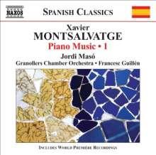 Xavier Montsalvatge (1912-2002): Klavierwerke Vol.1, CD