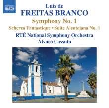 Luis de Freitas Branco (1890-1955): Symphonie Nr.1, CD