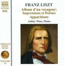 Franz Liszt (1811-1886): Klavierwerke Vol.32, CD