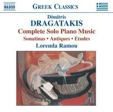 Dimitris Dragatakis (1914-2001): Klavierwerke, CD