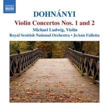 Ernst von Dohnanyi (1877-1960): Violinkonzerte Nr.1 & 2, CD