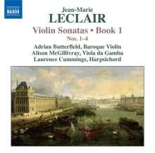 Jean Marie Leclair (1697-1764): Sonaten für Violine & Bc Heft 1 Nr.1-4, CD