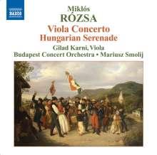 Miklós Rózsa (1907-1995): Violakonzert op.37, CD