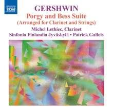 George Gershwin (1898-1937): Porgy & Bess-Suite (arr.für Klarinette & Streicher), CD