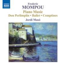 Federico Mompou (1893-1987): Klavierwerke Vol.5, CD