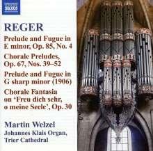 Max Reger (1873-1916): Sämtliche Orgelwerke Vol.10, CD