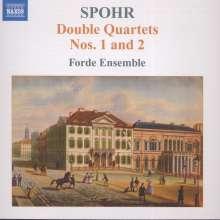 Louis Spohr (1784-1859): Doppelquartette Nr.1 & 2 (opp.65 & 77), CD