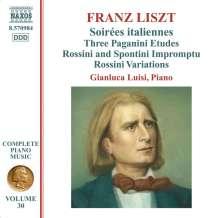 Franz Liszt (1811-1886): Klavierwerke Vol.30, CD