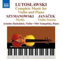 Witold Lutoslawski (1913-1994): Musik für Violine & Klavier, CD