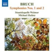 Max Bruch (1838-1920): Symphonien Nr.1 & 2, CD