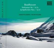 Naxos Selection: Beethoven - Symphonien Nr.1 & 6, CD