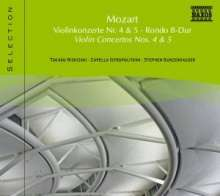 Naxos Selection: Mozart - Violinkonzerte Nr.4 & 5, CD