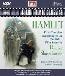 Dimitri Schostakowitsch (1906-1975): Hamlet op.116 (Filmmusik), DVD-Audio