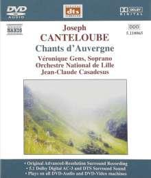Joseph Canteloube (1879-1957): Lieder der Auvergne, DVD-Audio
