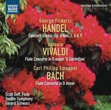 Georg Friedrich Händel (1685-1759): Concerti grossi op.6 Nr.1,6,9, CD