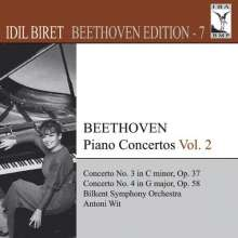 Idil Biret - Beethoven Edition 7/Klavierkonzerte Vol.2, CD
