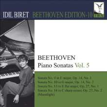 Idil Biret - Beethoven Edition 10/Klaviersonaten Vol.5, CD