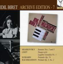 Idil Biret - Archive Edition Vol.7, CD