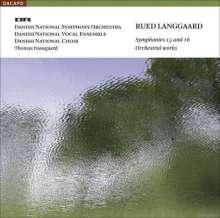 Rued Langgaard (1893-1952): Symphonien Nr.15 & 16, SACD