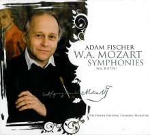 Wolfgang Amadeus Mozart (1756-1791): Symphonien Vol.8, SACD