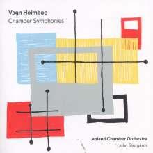 Vagn Holmboe (1909-1996): Symphonien Nr.11-13, SACD
