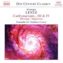 Georges Lentz (geb. 1965): Caeli enarrant IV für Streichquartett & 3 Zimbali, CD