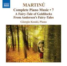 Bohuslav Martinu (1890-1959): Sämtliche Klavierwerke Vol.7, CD