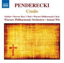 Krzysztof Penderecki (geb. 1933): Credo, CD