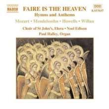 St.John's Church Choir - Faire is the Heaven, CD