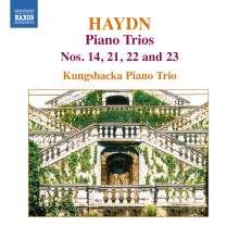 Joseph Haydn (1732-1809): Klaviertrios H15 Nr.14,21,22,23, CD